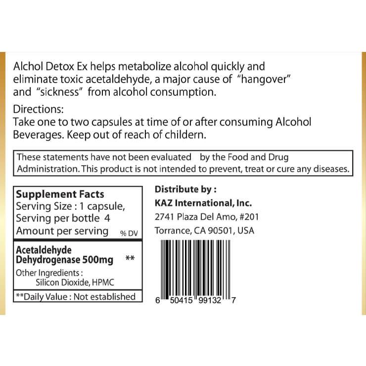 Alcohol Detox EX