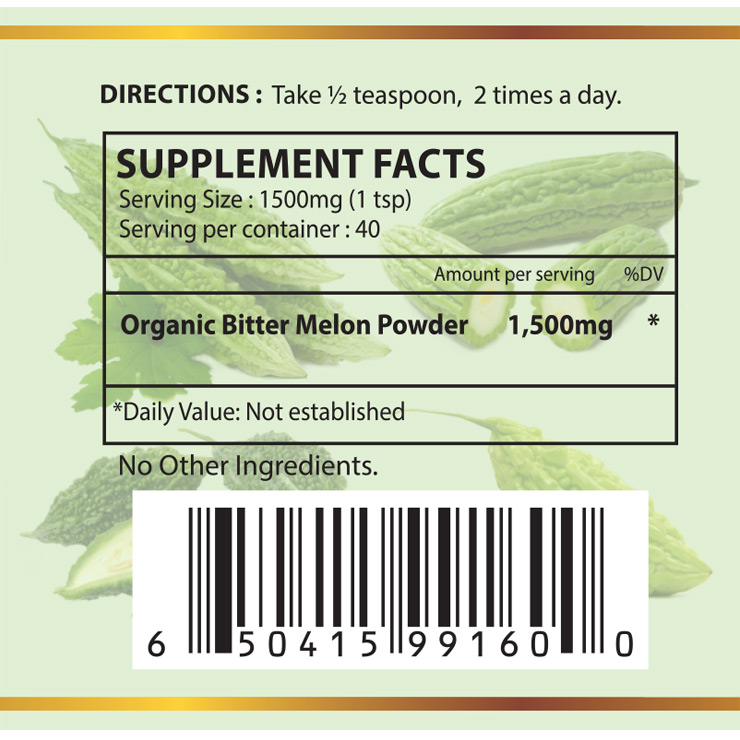 Organic Bitter Melon Powder